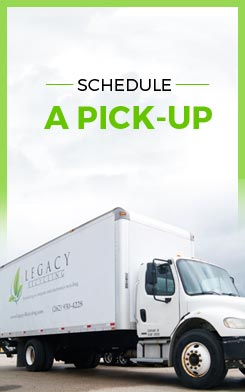 Legacy Recycling pick - up